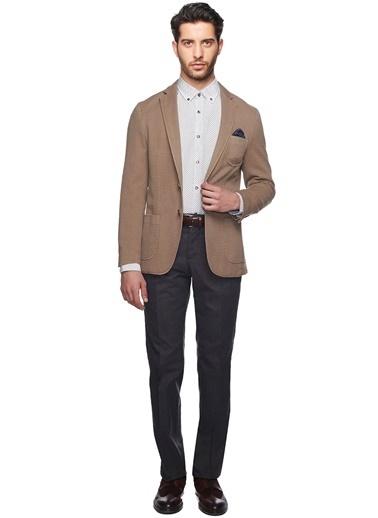 Altınyıldız Classics Slim Fit Blazer Ceket Vizon